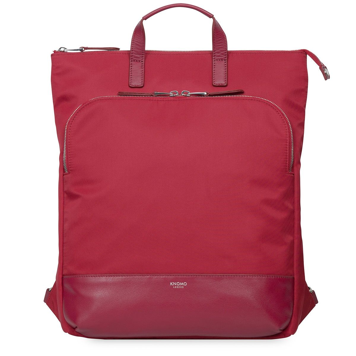Knomo Harewood Tote Backpack Cherry 15 inch