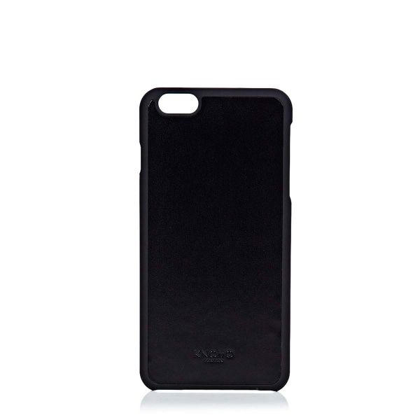 iPhone hoesje Knomo iPhone 6/6S Plus Leather Snap On Case Black