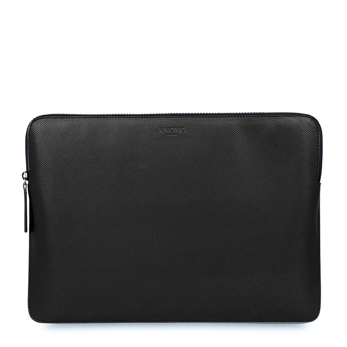 Knomo Laptop Sleeve Embossed Black 13 inch