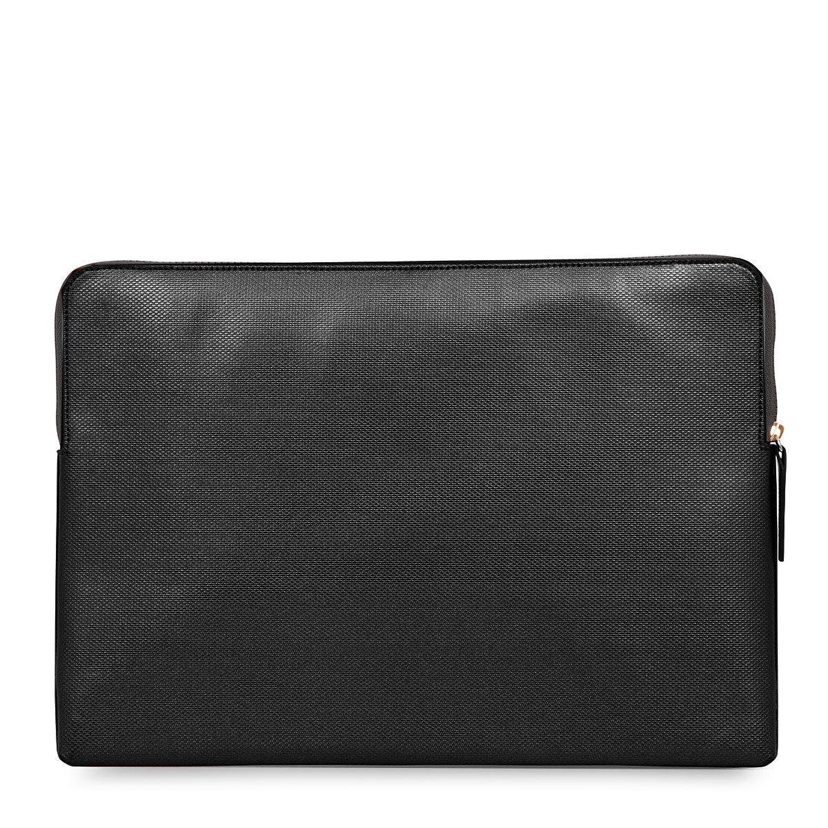 Knomo Laptop Sleeve Embossed Black 15 inch