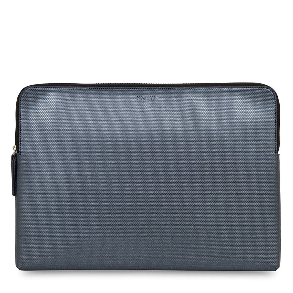 Laptophoes Knomo Laptop Sleeve Embossed Silver 15 inch