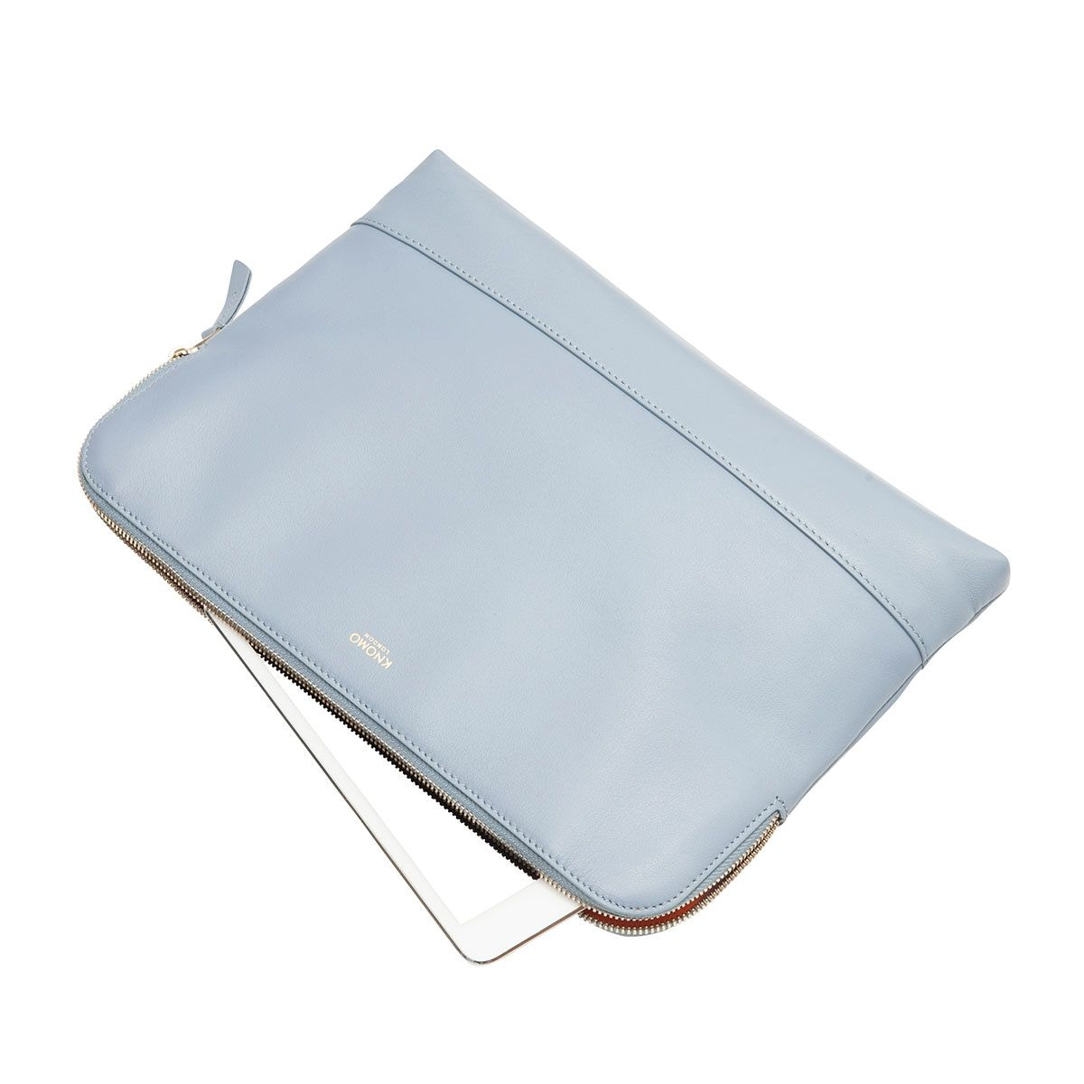 iPad hoes Knomo Molton Leather Cross Body Clutch Lido
