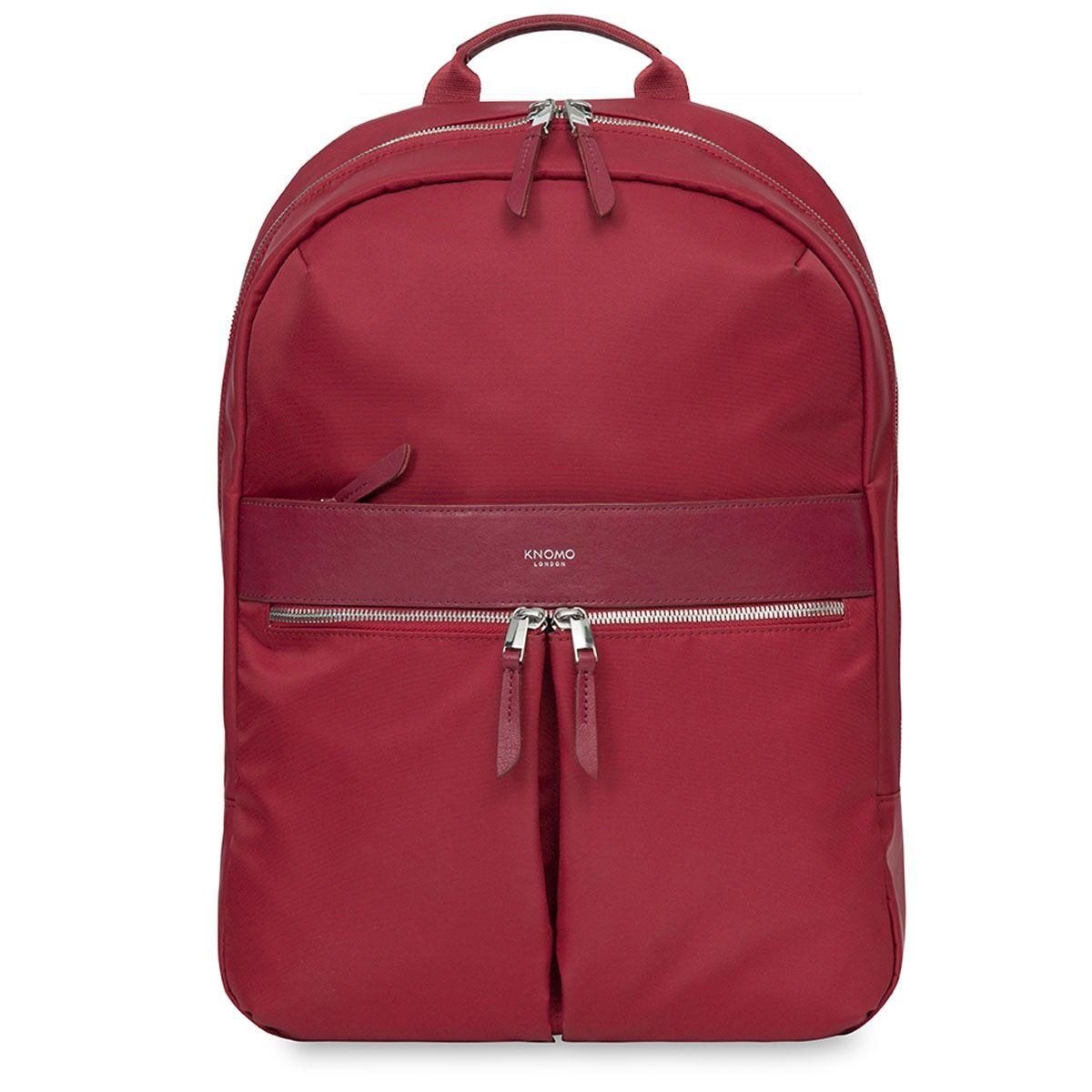 Laptop rugzak Knomo Beauchamp Backpack Cherry 14 inch