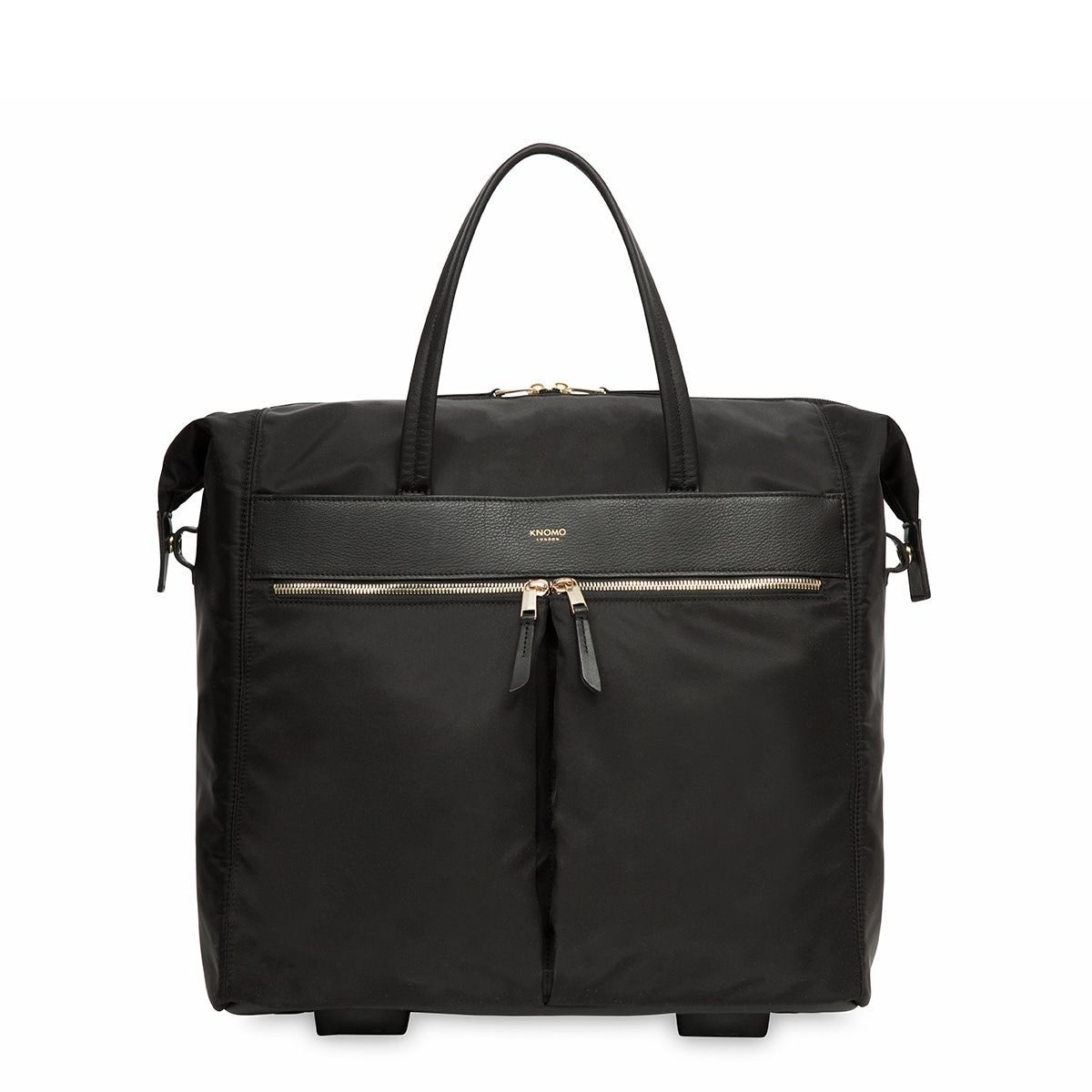 Laptop trolley Knomo Sedley Trolley Tote Black 15 inch