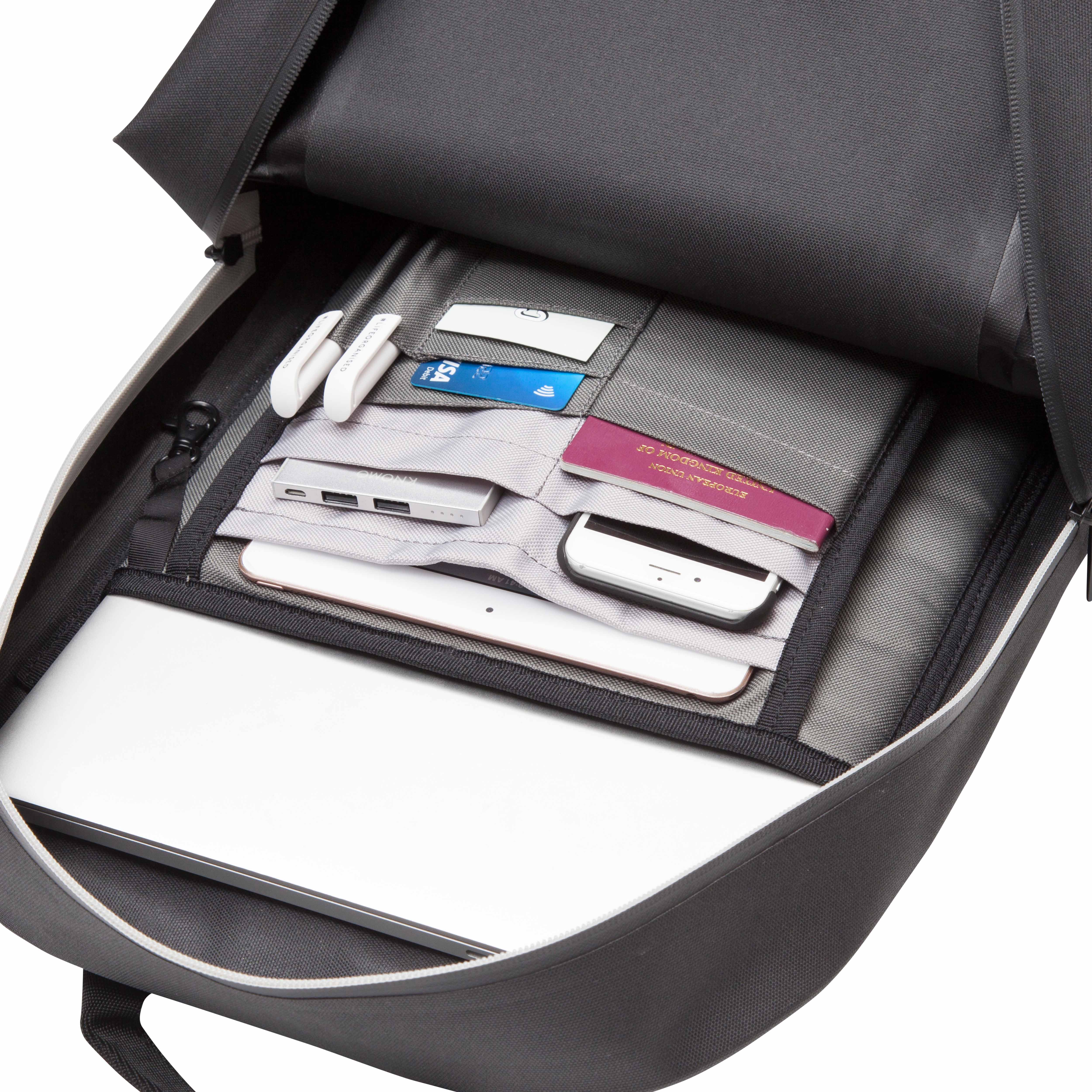 Knomo Harpsden Backpack Black 14 inch