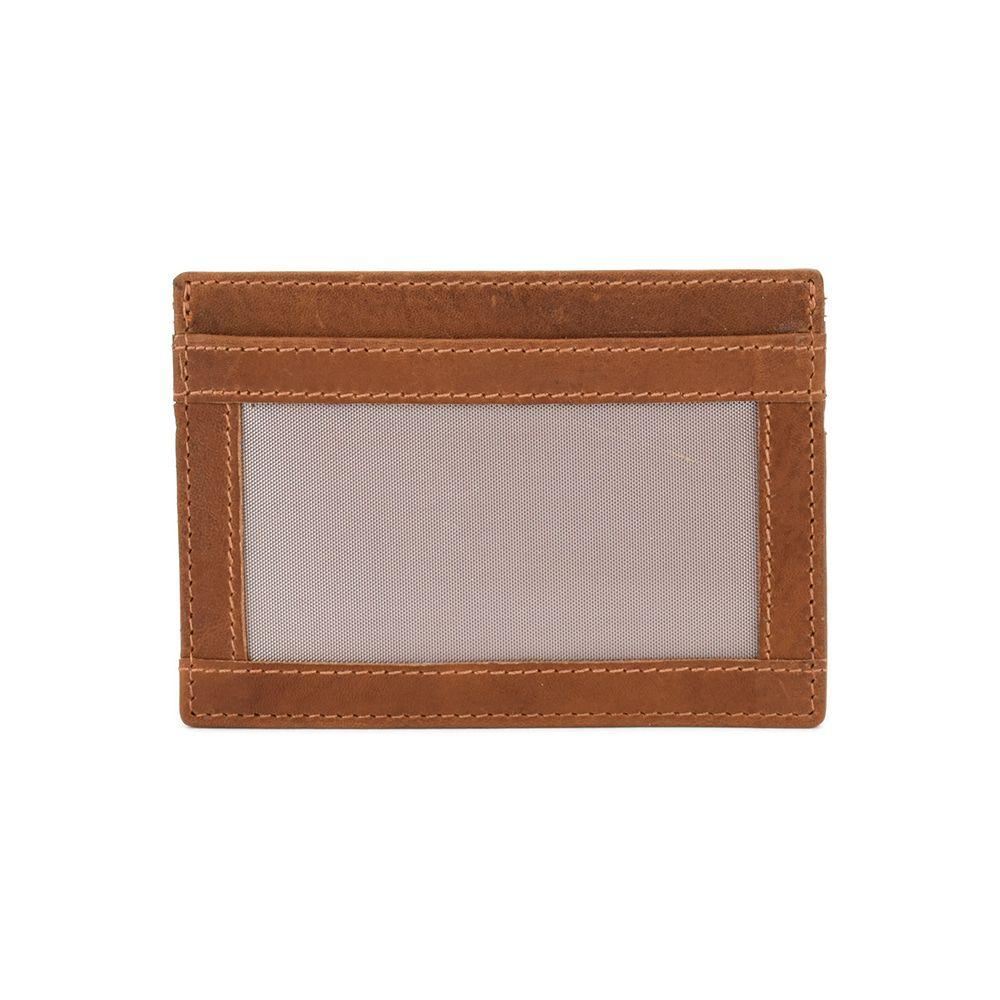Lataza Card Wallet Cognac