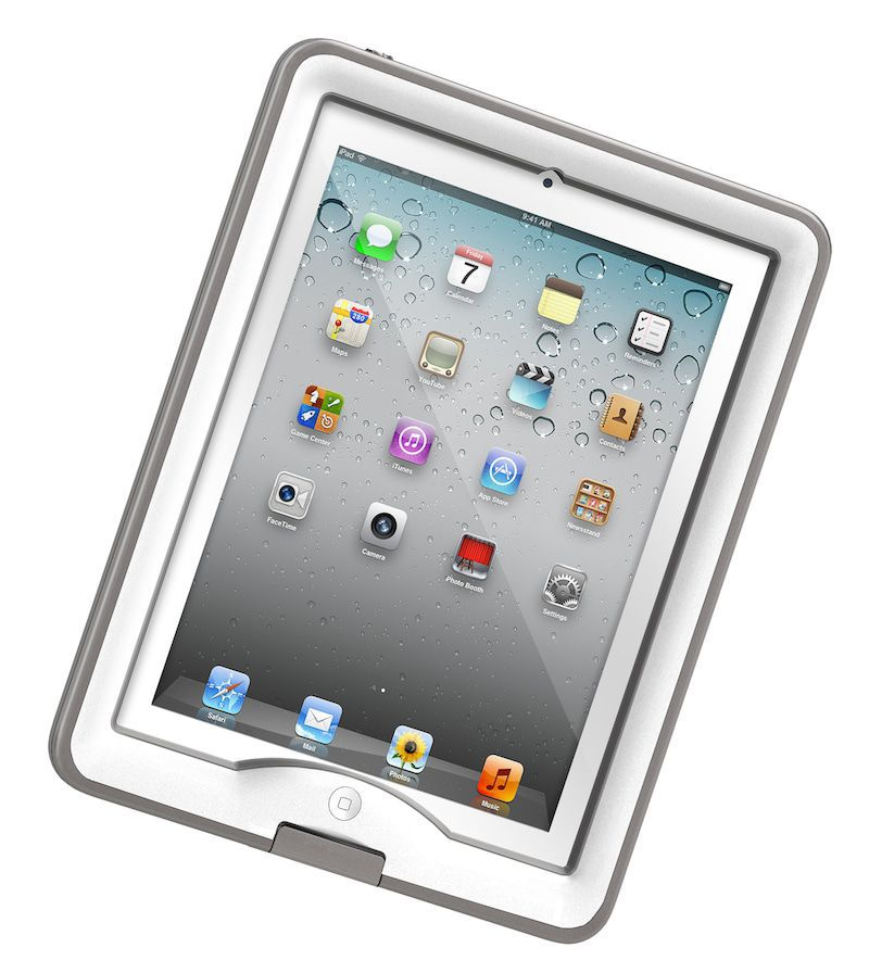 iPad hoes LifeProof Nuud iPad 2/3/4 Case White