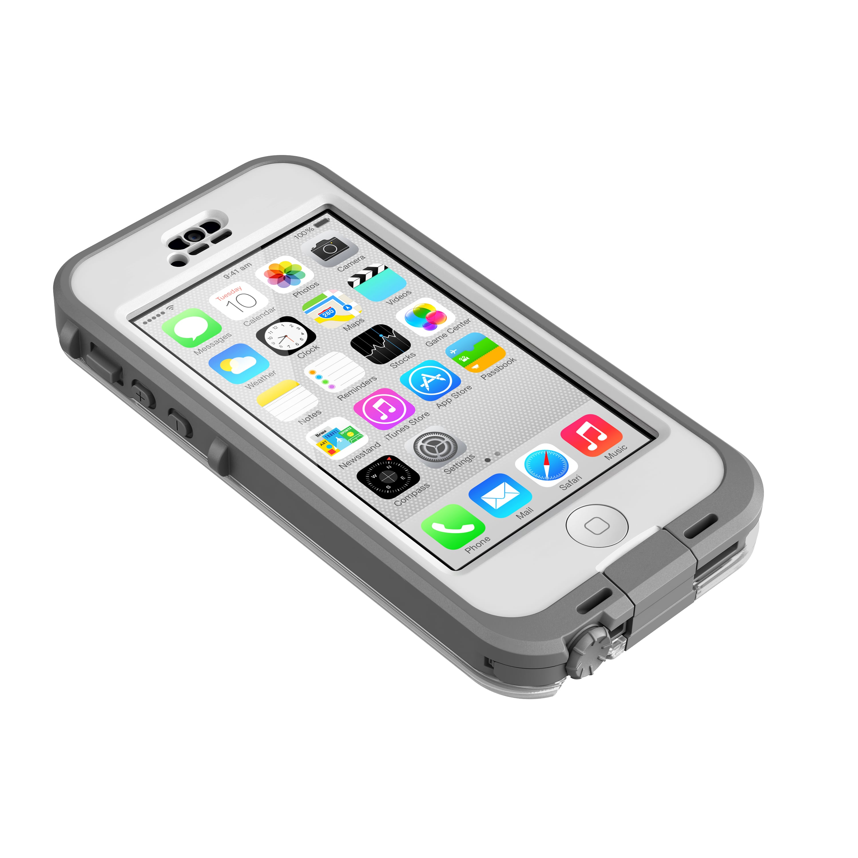 iPhone hoesje LifeProof iPhone 5C N��d Case White