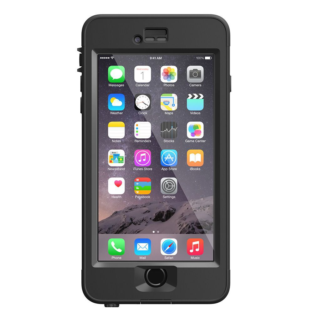iPhone case LifeProof Nüüd for iPhone 6 Plus Case Black
