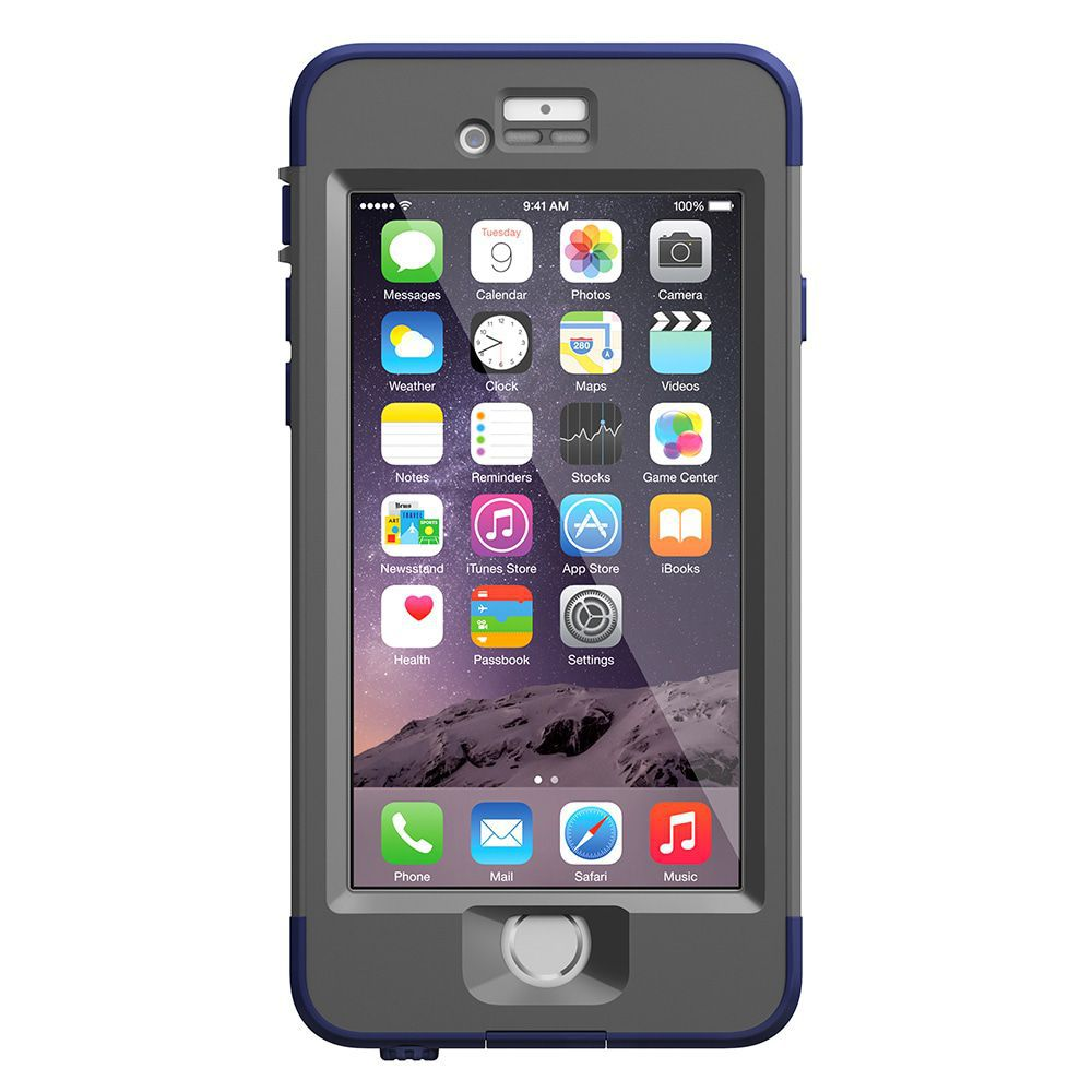 iPhone case LifeProof Nüüd for iPhone 6 Case Night Dive Blue