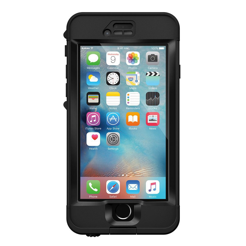 iPhone case LifeProof Nüüd for iPhone 6S Case Black