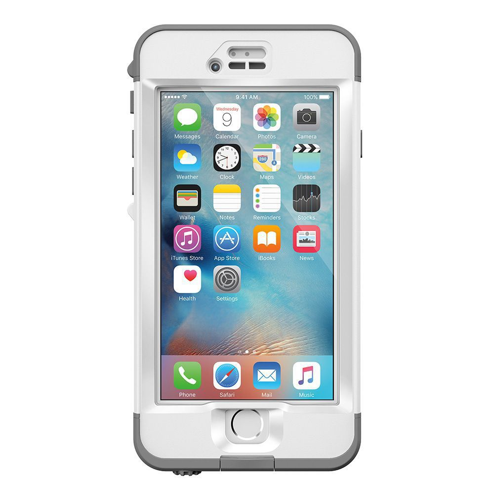 iPhone case LifeProof Nüüd for iPhone 6S Plus Case Avalanche White