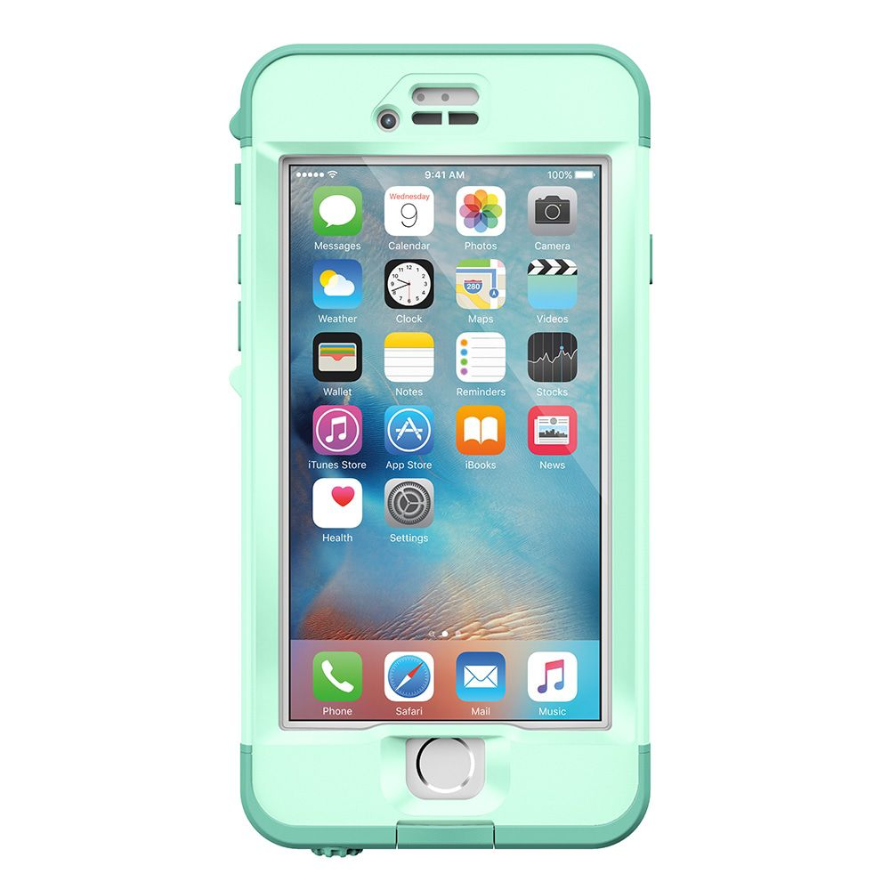 iPhone case LifeProof Nüüd for iPhone 6S Case Undertow Aqua