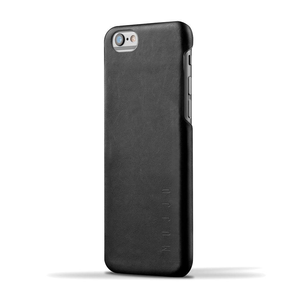 iPhone hoesje Mujjo Leather Case iPhone 6-6S Black