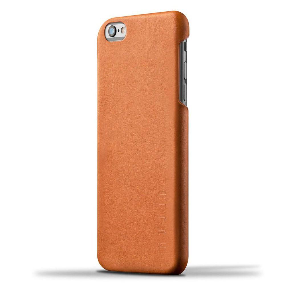 iPhone hoesje Mujjo Leather Case iPhone 6-6S Plus Tan