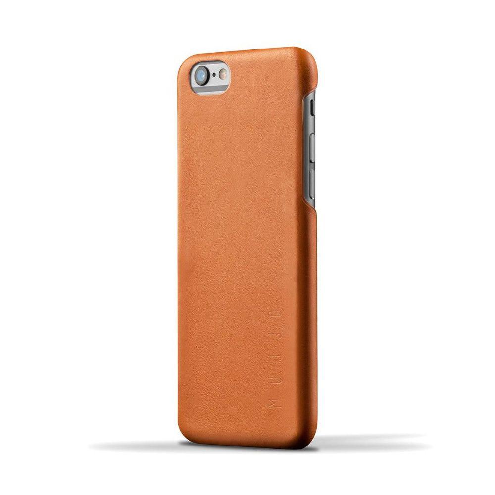 iPhone hoesje Mujjo Leather Case iPhone 6-6S Tan