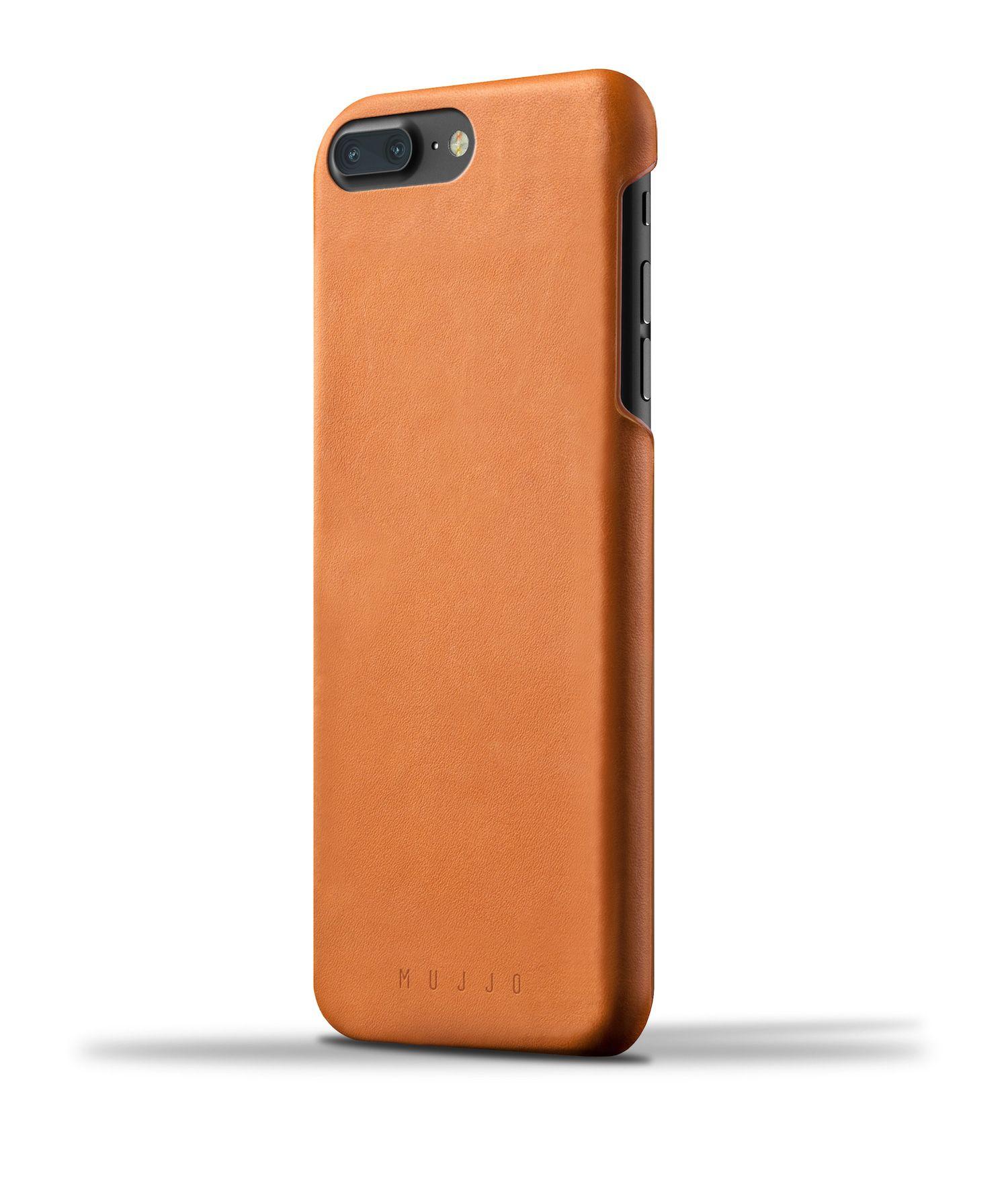 Mujjo Leather Case iPhone 7 Plus Tan