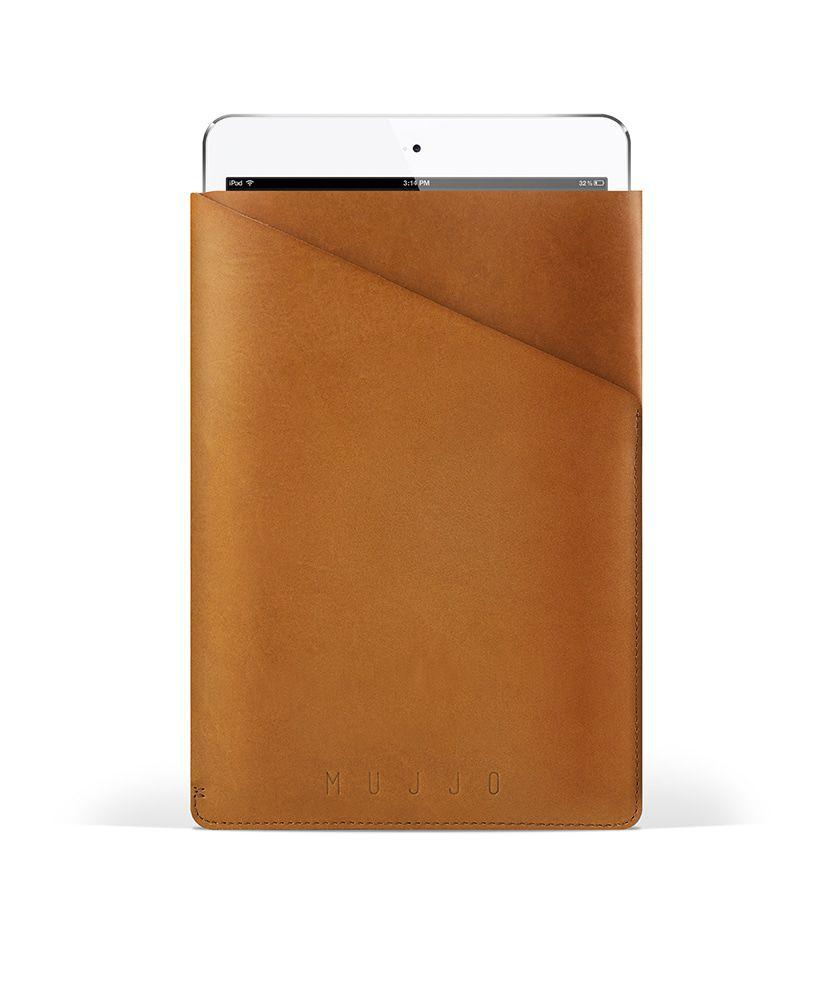 Mujjo Slim Fit iPad Mini 1/2/3 Sleeve Tan