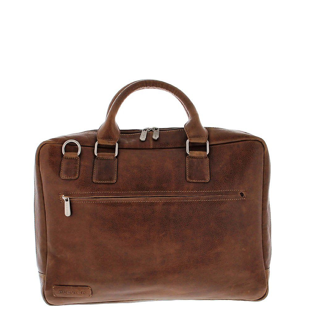 Plevier Business Laptoptas 485 Surrey Cognac 17 inch