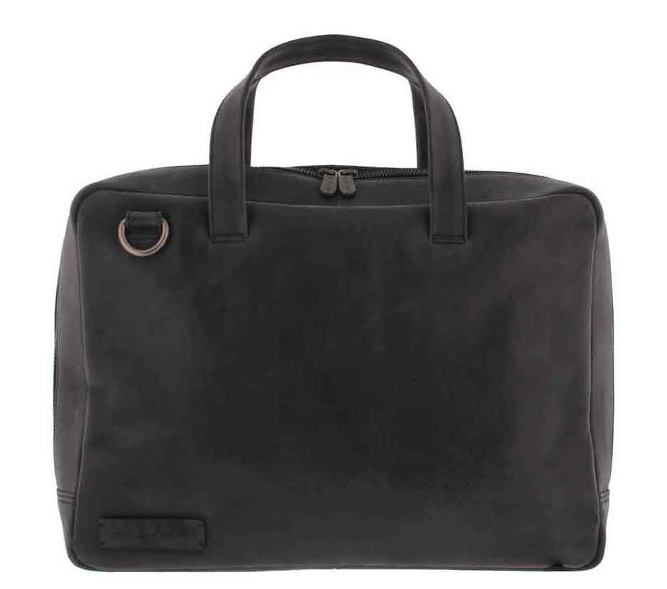 Laptoptas Plevier Pure Business Laptoptas 1 Vaks 705 Zwart 14 inch