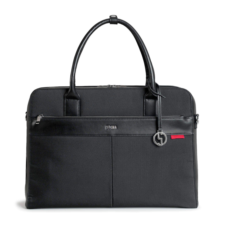 SOCHA Dames Laptoptas Casual Zwart 17.3 inch