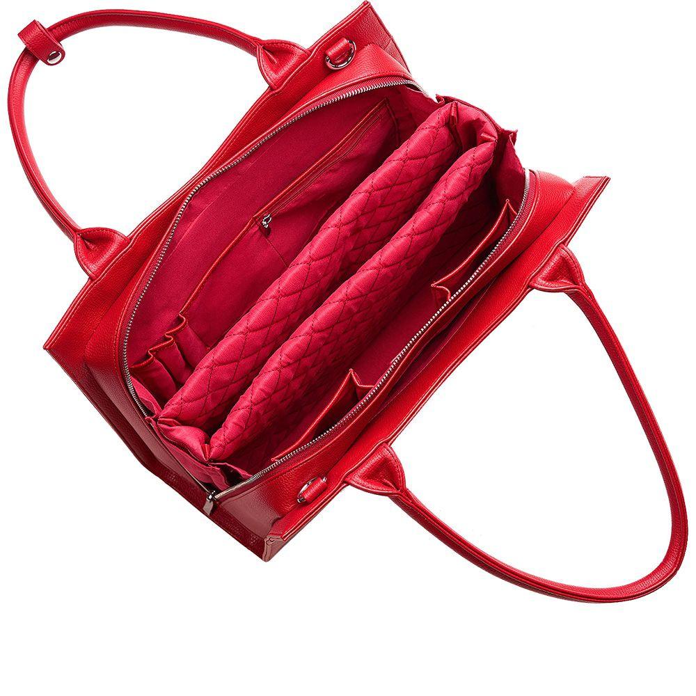 SOCHA Dames Laptoptas 14 inch Midi Cherry Rood
