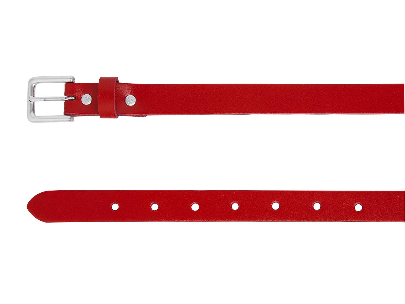 Take-It 490 Dames Leren Fashion Riem 95/2 cm Rood