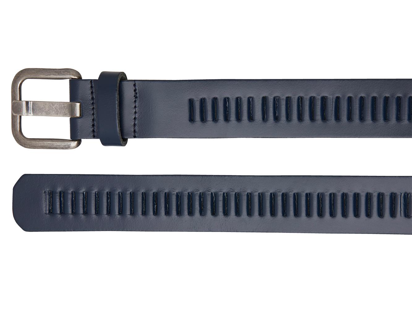 Timbelt 427 Leren Casual - Jeans Riem 105/4 cm Blauw