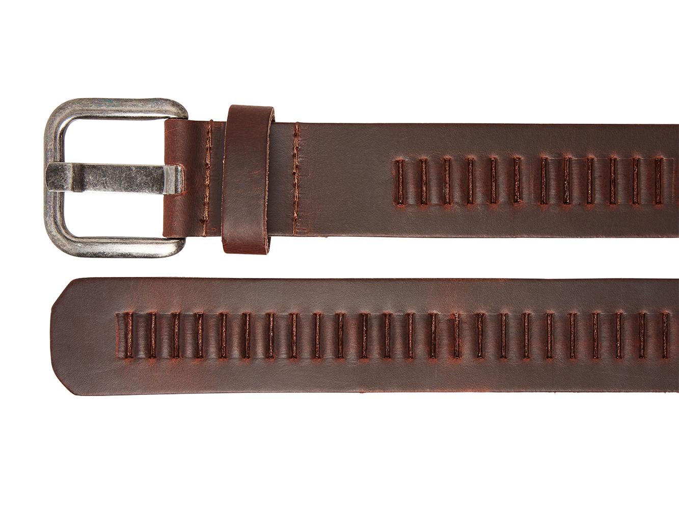 Timbelt 427 Leren Casual - Jeans Riem 105/4 cm Bruin