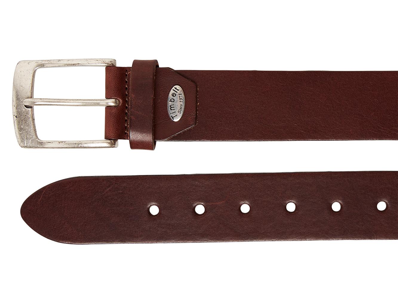 Timbelt 627 Volnerf Leren Casual - Jeans Riem 105/4 cm Bruin