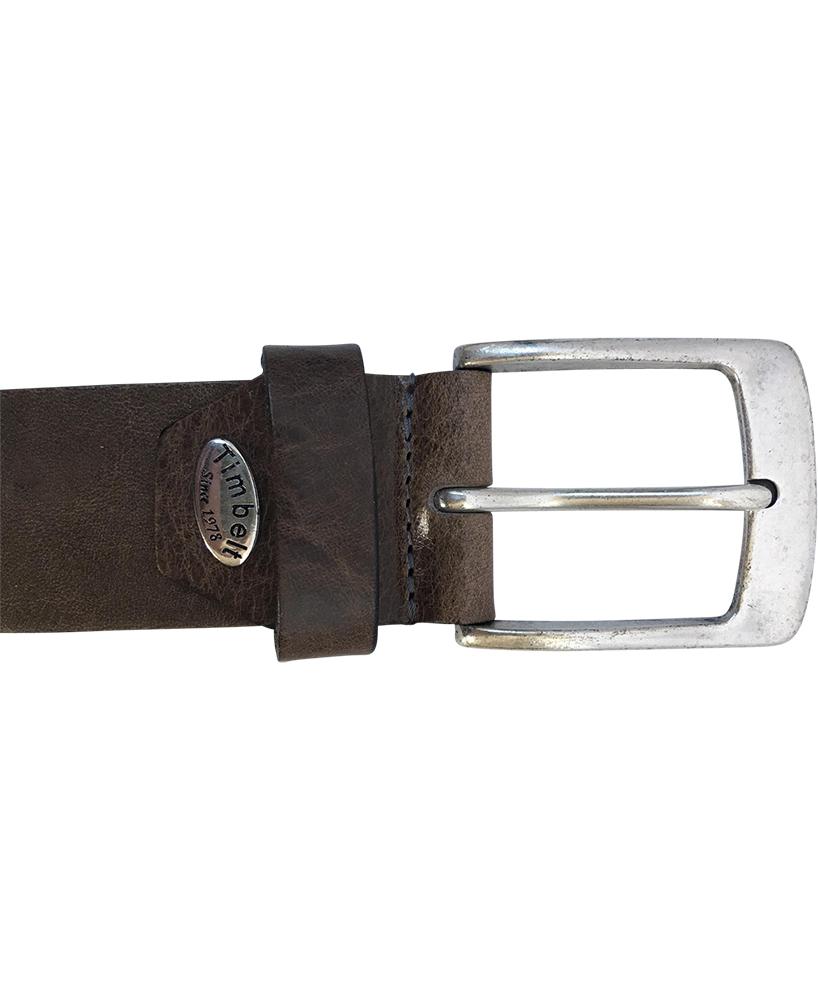 Timbelt 627 Volnerf Leren Casual - Jeans Riem 105/4 cm Grijs