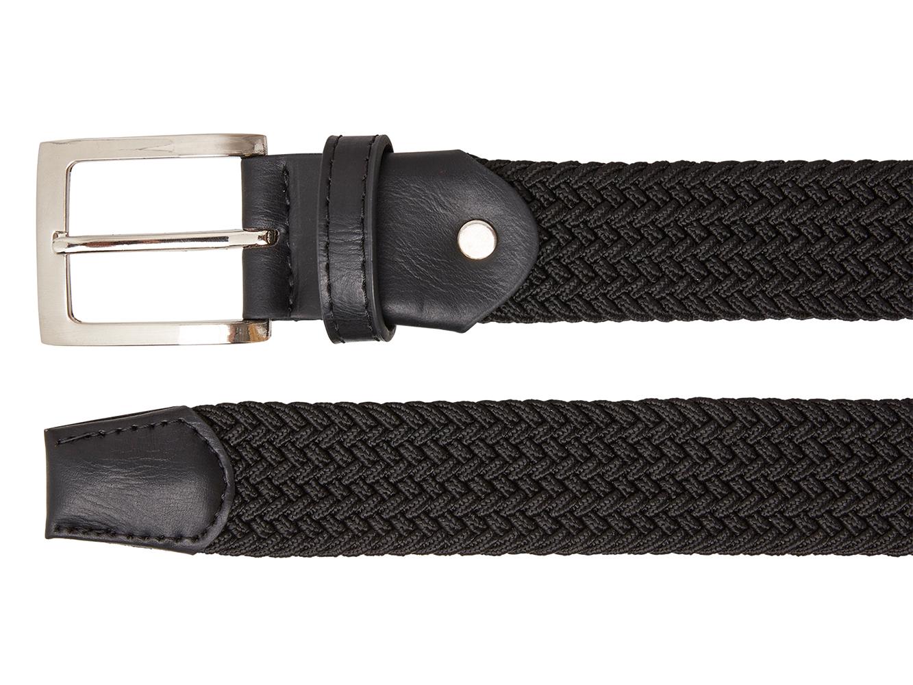 Timbelt 70113 Elastische Band Riem 110/3,5 cm Zwart