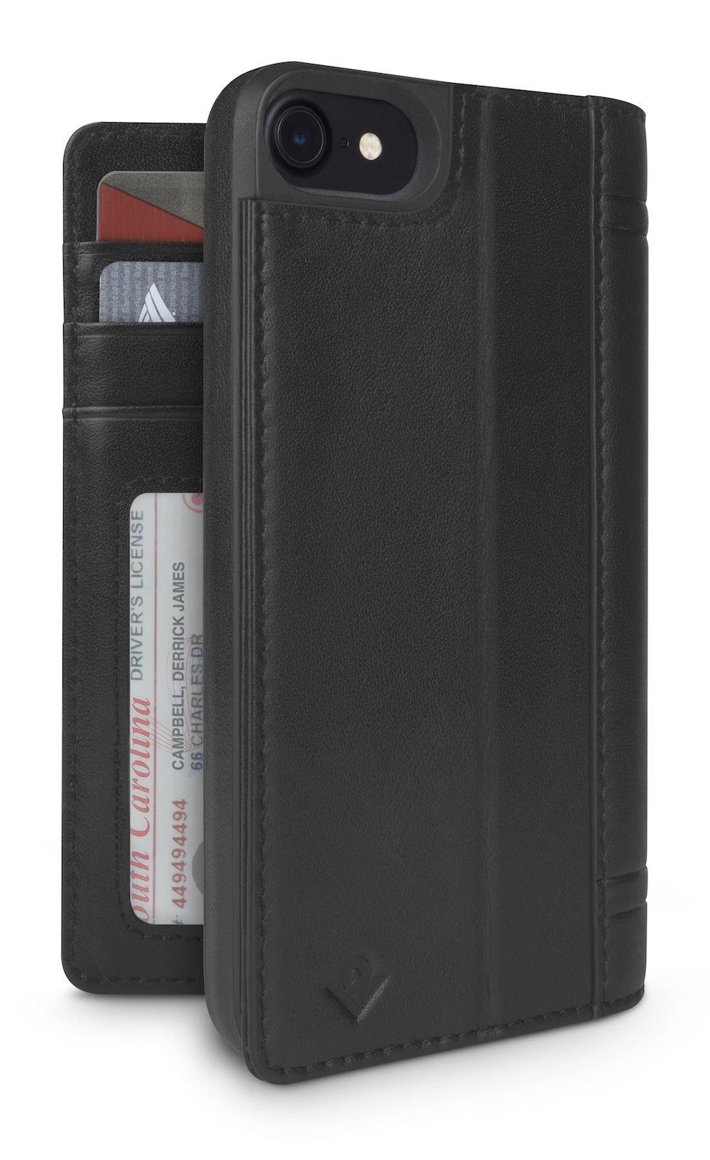 Twelve South Journal for iPhone 8/7 Black