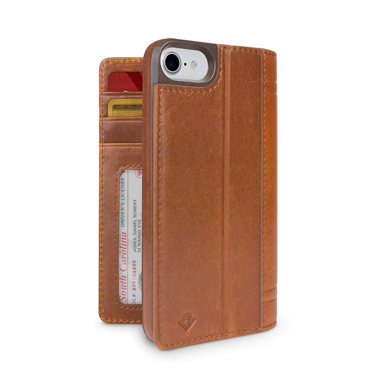 Twelve South Journal for iPhone 8/7 Cognac
