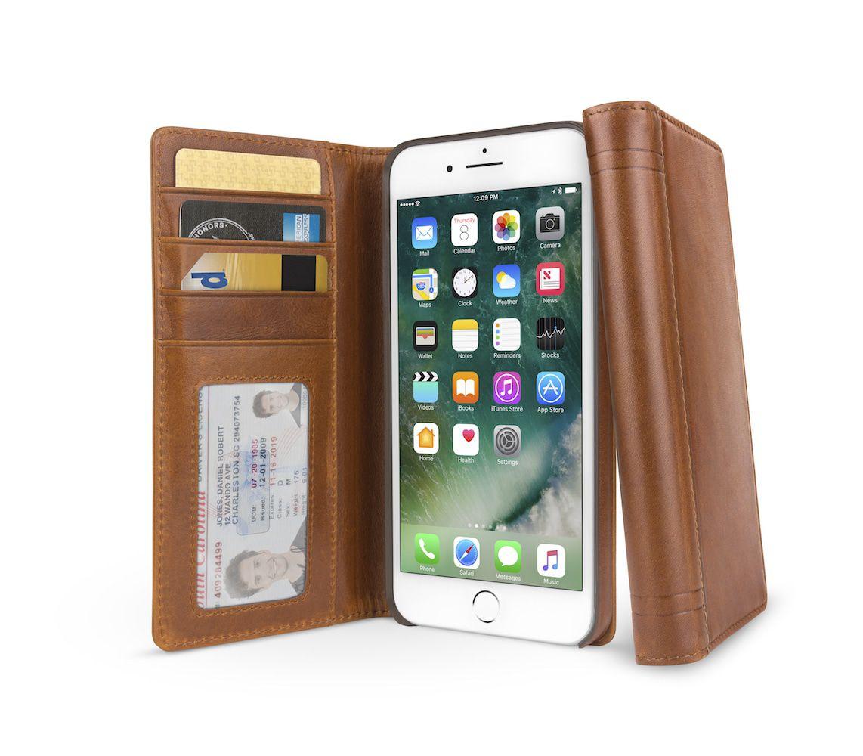 Twelve South Journal for iPhone 8 Plus / 7 Plus Cognac