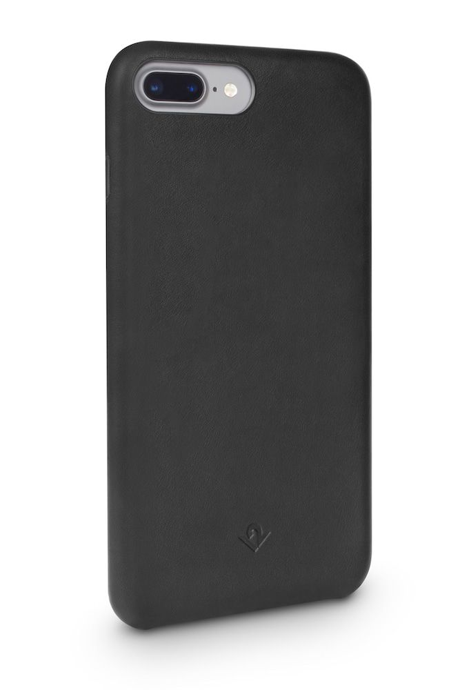Twelve South Relaxed Leather Case iPhone 8 Plus - 7 Plus Black