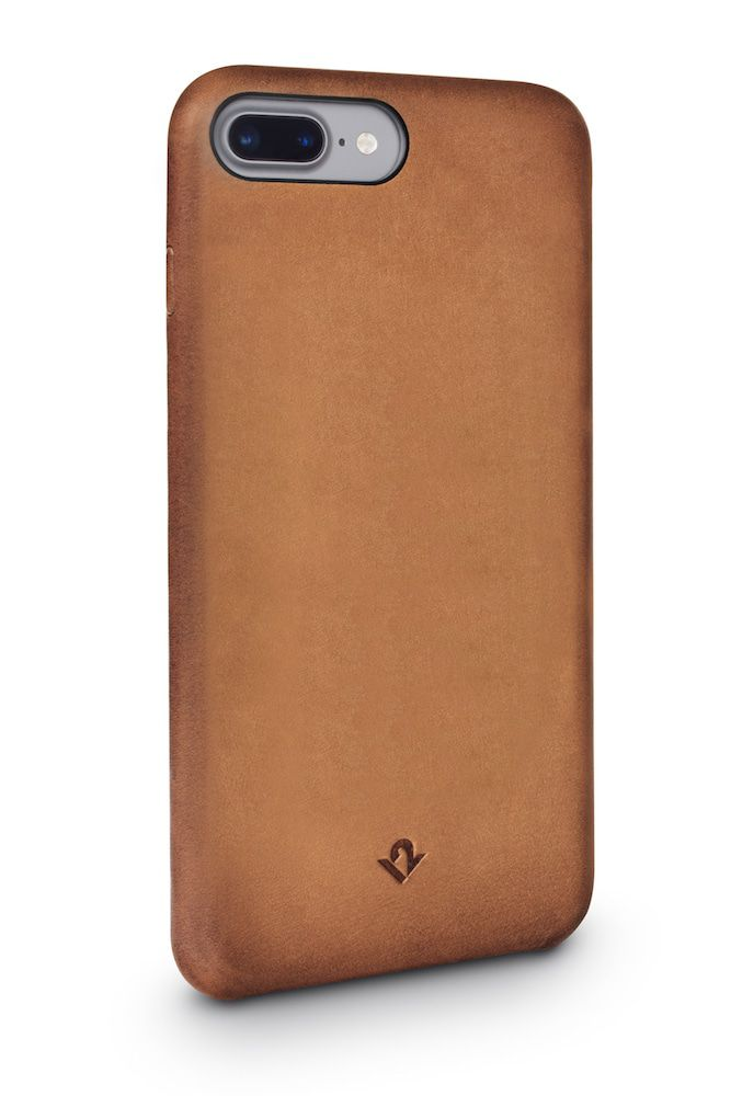 Twelve South Relaxed Leather Case iPhone 8 Plus - 7 Plus Cognac