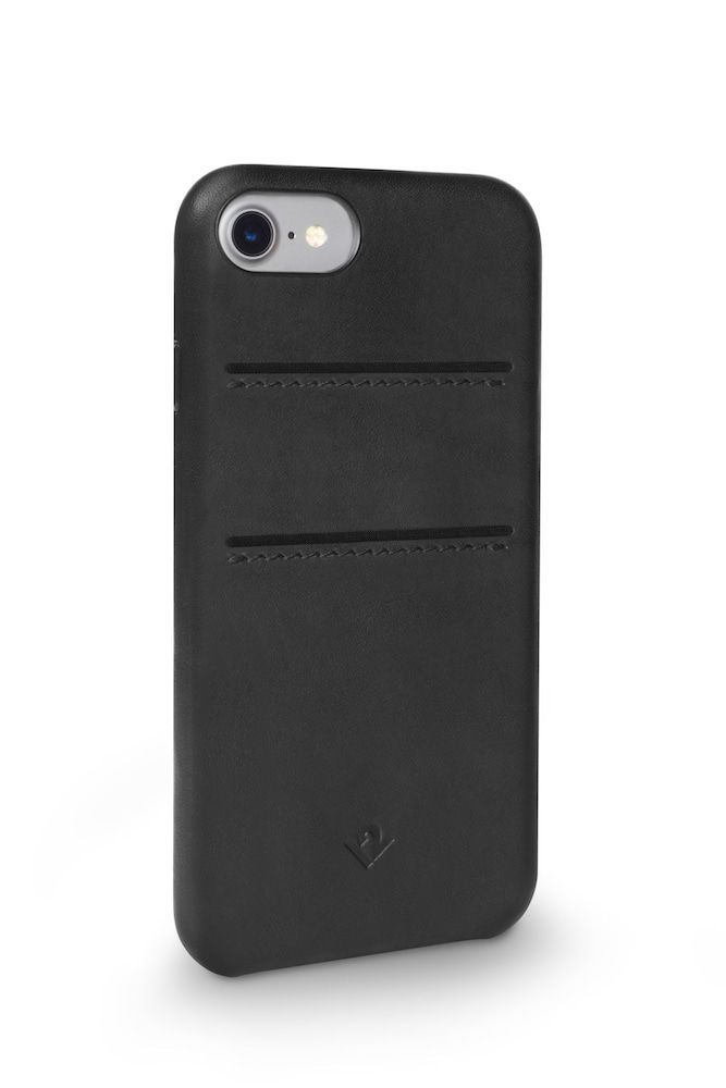 Twelve South Relaxed Leather Case Pockets iPhone 8/7 Black