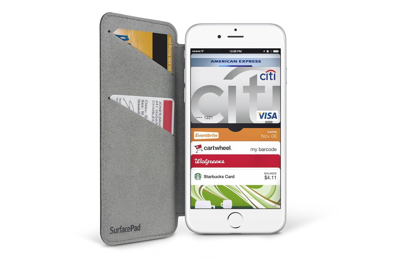 iPhone hoesje Twelve South SurfacePad iPhone 6/6S Plus Camel