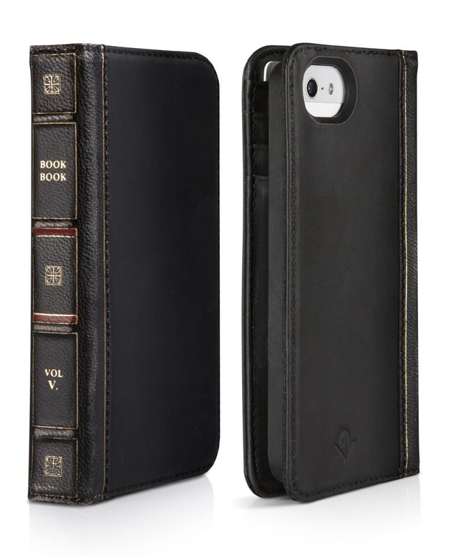 iPhone hoesje Twelve South BookBook iPhone 5/5S/SE Case Wallet Classic Black