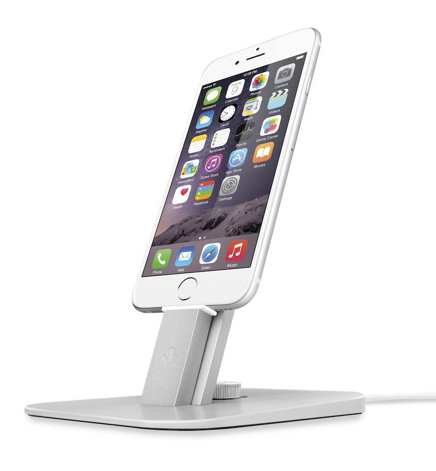 Twelve South HiRise Deluxe Silver for iPhone and iPad