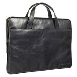 dbramante1928 Silkeborg Leather Sleeve Black 13 inch
