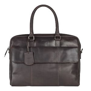 Burkely Leren Laptoptas 15 inch On The Move Flap Bruin