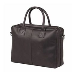 Burkely Taylor Business Vintage Shoulderbag Black 17 inch